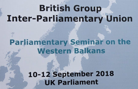 London Conference Photography for Western Balkans Seminar