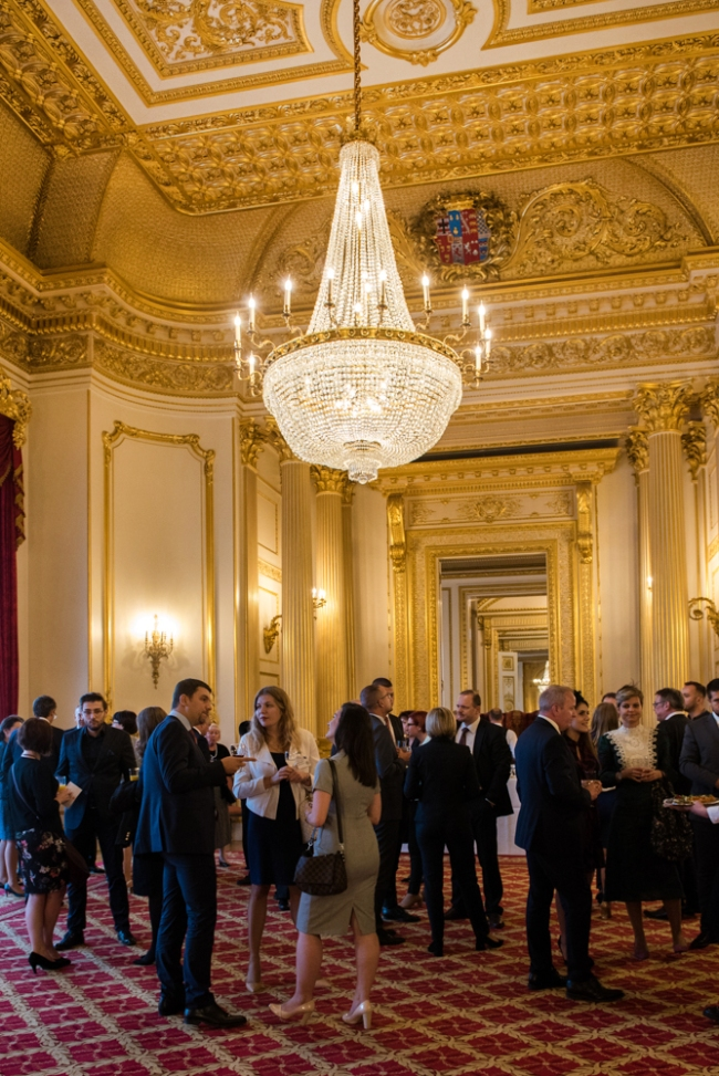 Event photography at London's Lancaster House