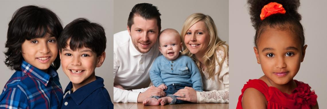Family portraits, studio portrait, photography sutton epsom surrey london