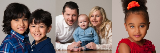 Family portraits, studio portrait, photography sutton epsom surrey london